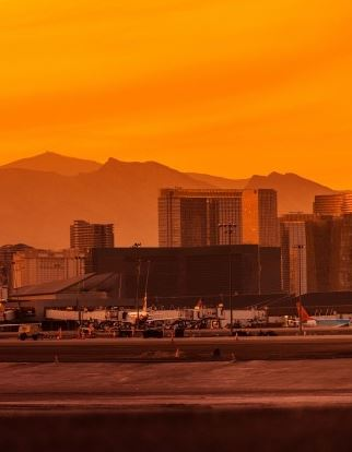 Flughaffen in Las Vegas - Mccarran International Airport
