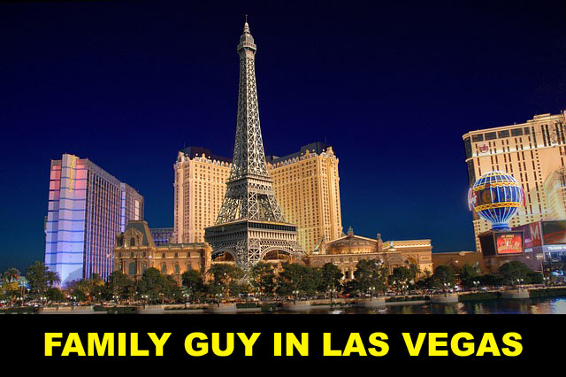 Family guy in Vegas