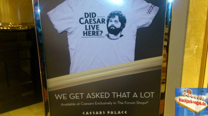 Las Vegas Hotel Caesars Palace Hangover Tshirt