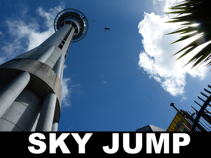 Las Vegas atrraktion Skyjump stratosphere Tower
