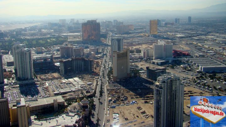 Las Vegas Attraktion Stratosphere Tower Ausblick