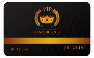 Las Vegas Casino - Players Club Karte