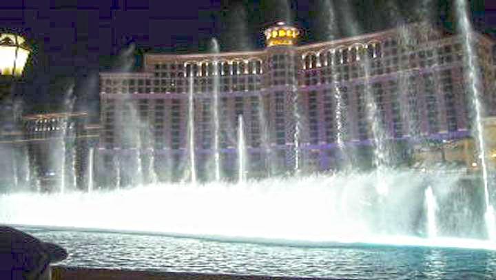Las Vegas Sehenswürdigkeit - Bellagio Springbrunnen