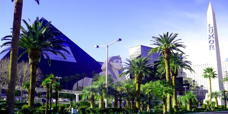 Las Vegas Sehenswürdigkeit Luxor Pyramide