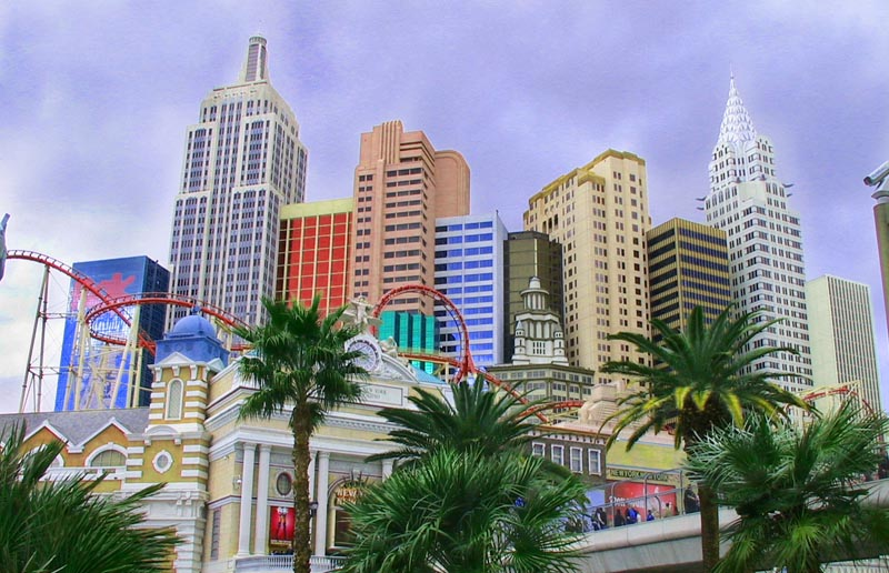 Las Vegas Hotel Theater Boradway New York New York