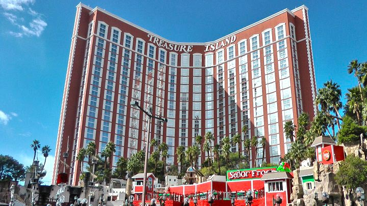 Las Vegas treasure Island Shopping Mall einkaufszentrum