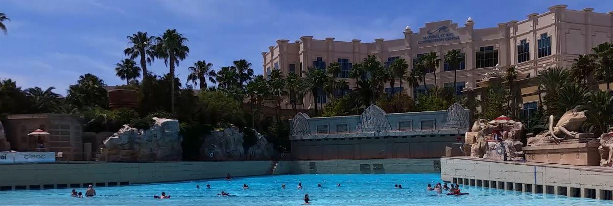 Pool am Mandalay Bay Hotel Las Vegas