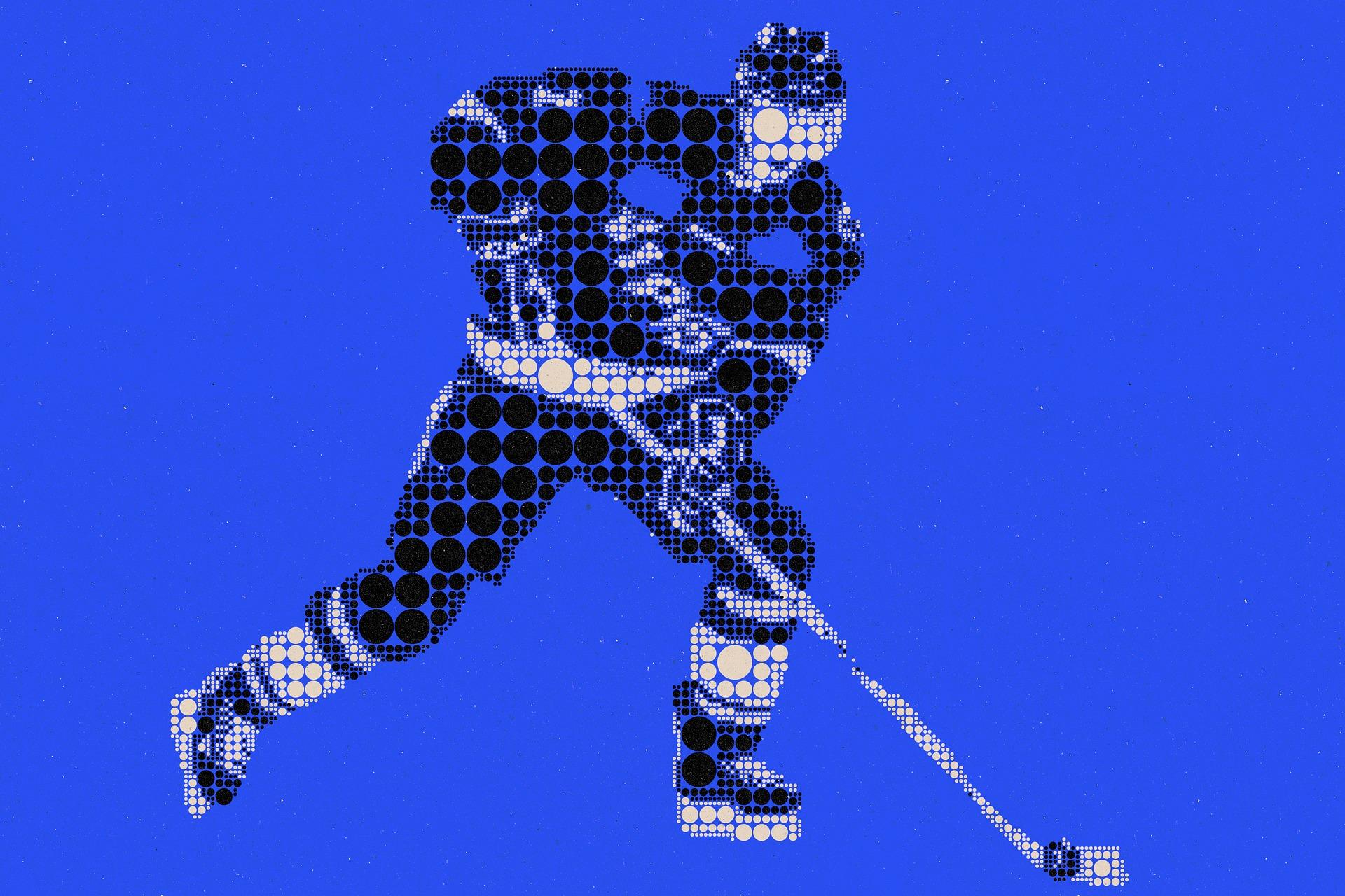 Las Vegas Eishockey -Grafik