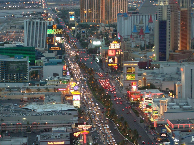 Las Vegas Sehenswürdigkeiten - The Strip